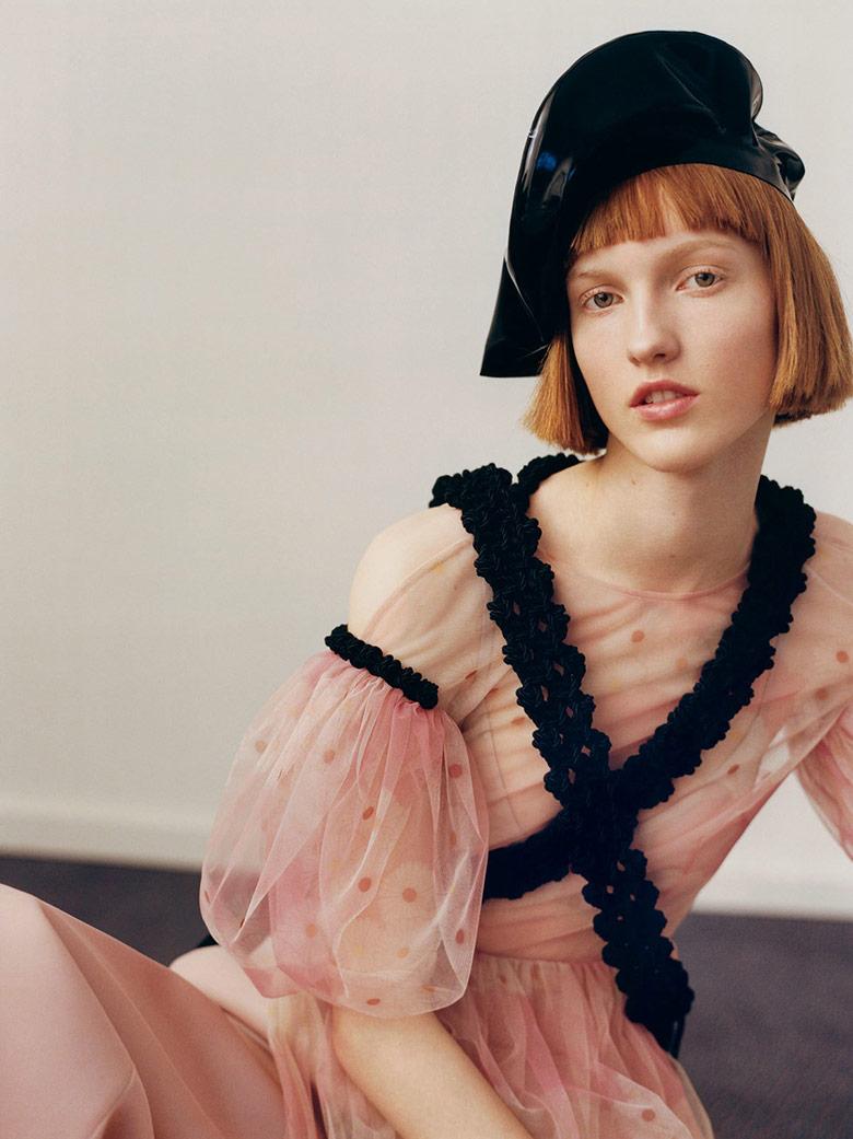 Photo Ina Jensen & Line Brems for i D Magazine Pre Spring 2016