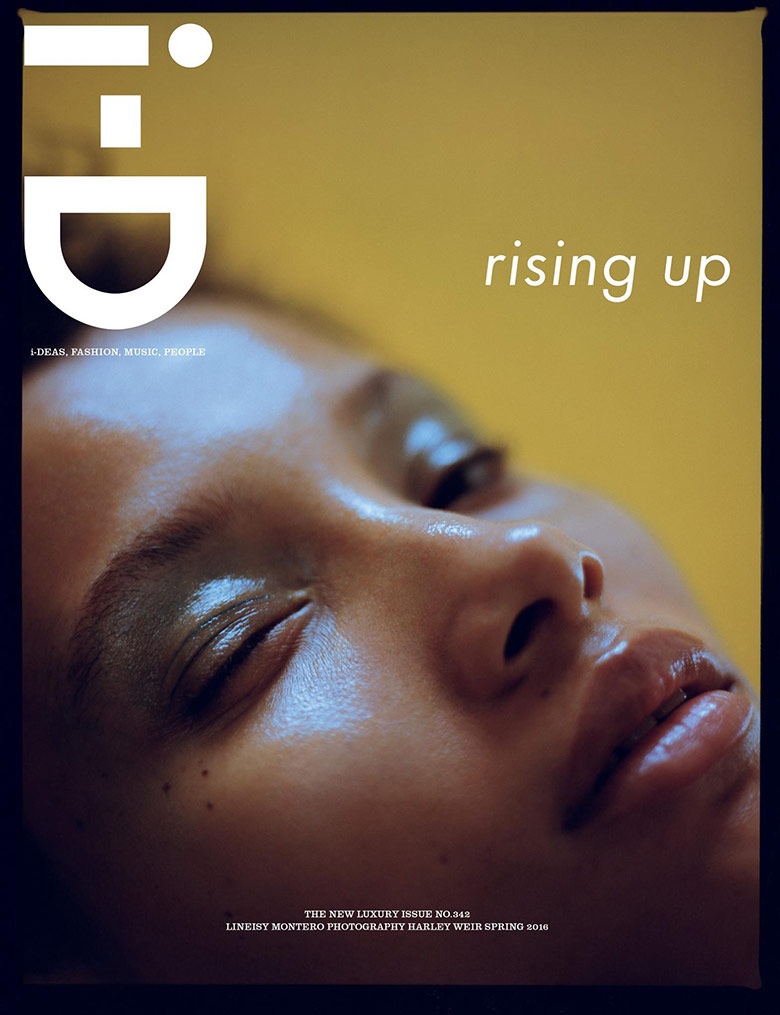Photo Lineisy Montero by Harley Weir for  i D Magazine Spring 2016