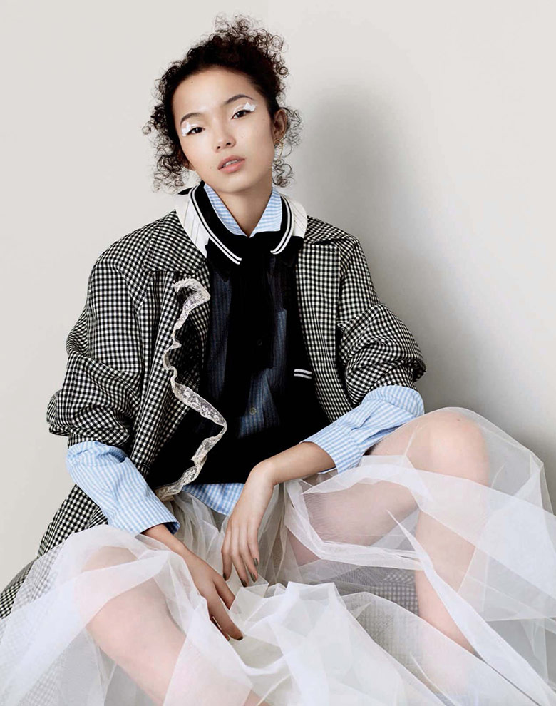 Photo Xiao Wen Ju by Ben Toms for Vogue China April 2016