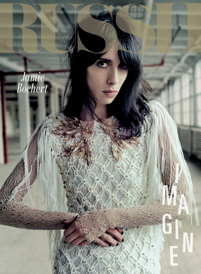 Photo Jamie Bochert by Drew Jarrett for Russh April/May 2016