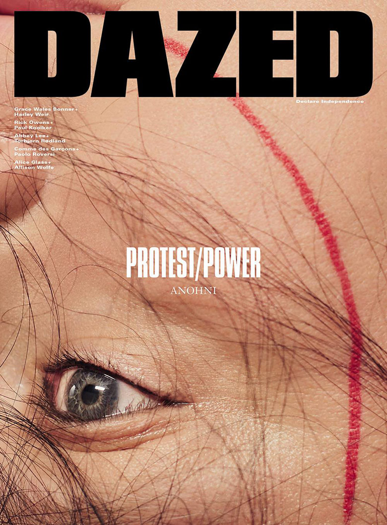 Photo Anohni by Mel Bles for Dazed S/S 2016