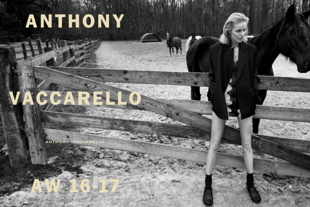 Photo Anthony Vaccarello Fall/Winter 16/17