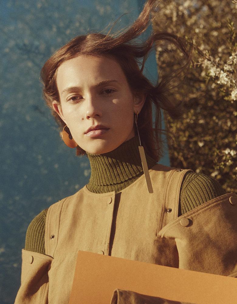 Photo Mali Koopman by Charlotte Wales for Vogue China June 2016