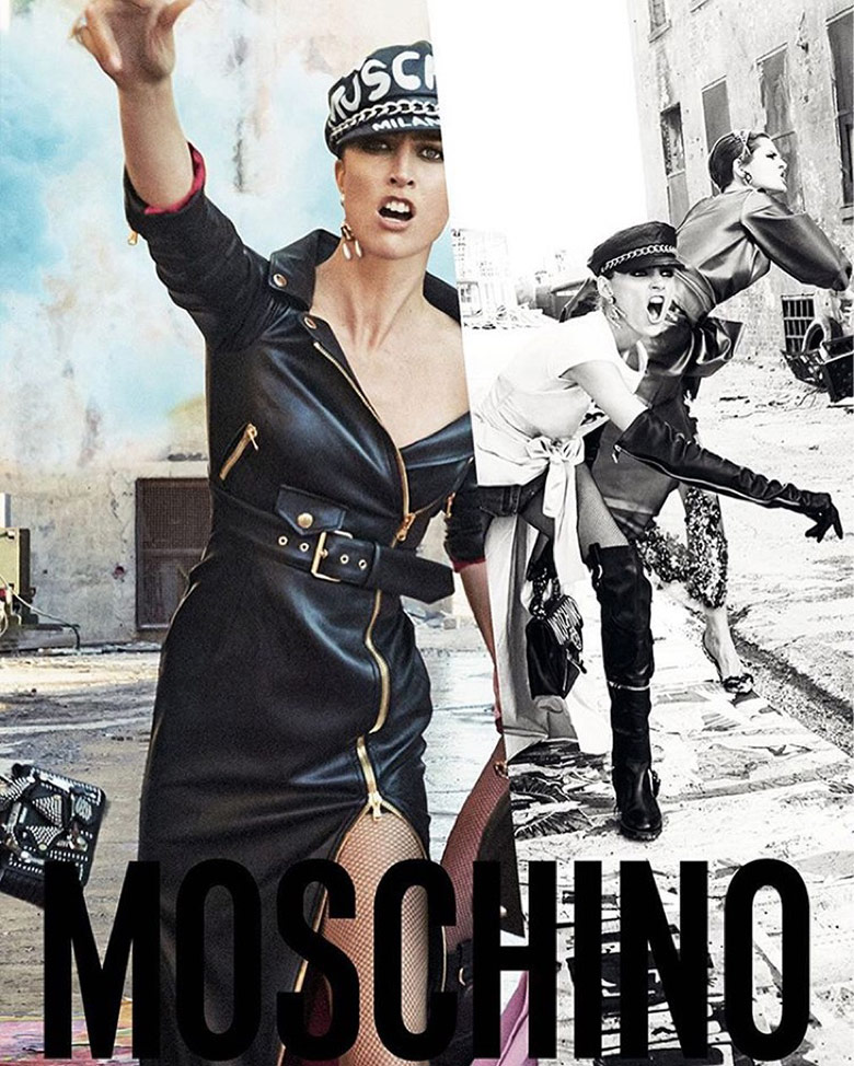 Photo Moschino F/W 16/17 Campaign