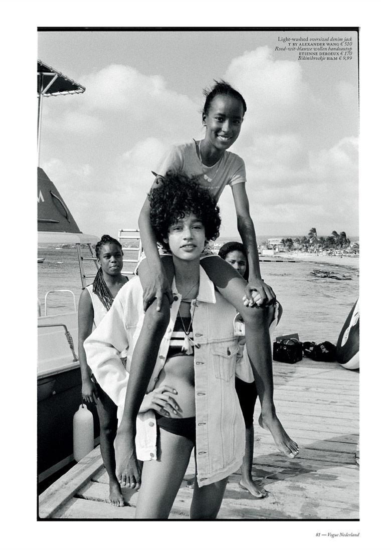 Photo Damaris Goddrie by Quentin de Briey for Vogue Netherlands July/August 2016