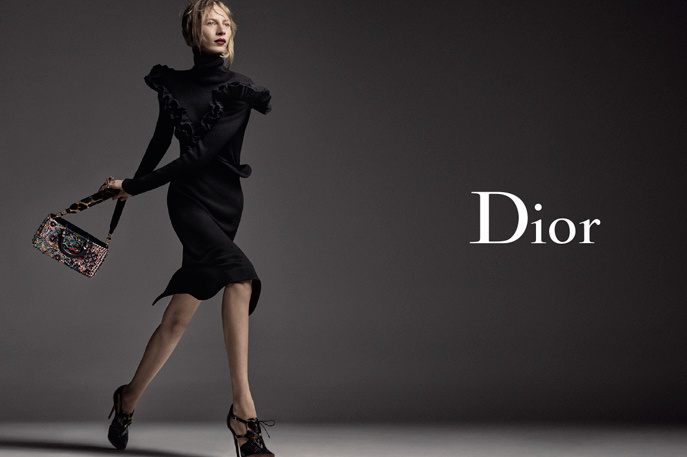Photo Julia Nobis for Christian Dior F/W 16/17