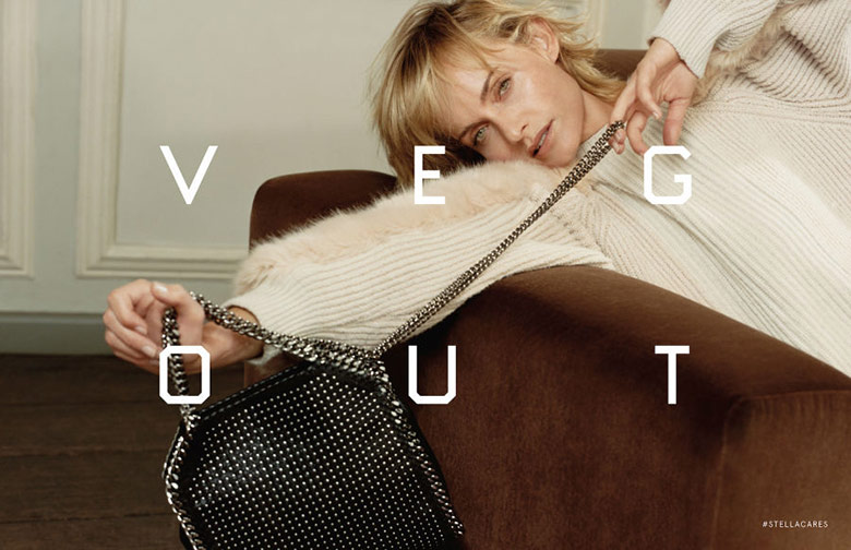 Photo Amber Valletta for Stella McCartney F/W 16/17 Campaign