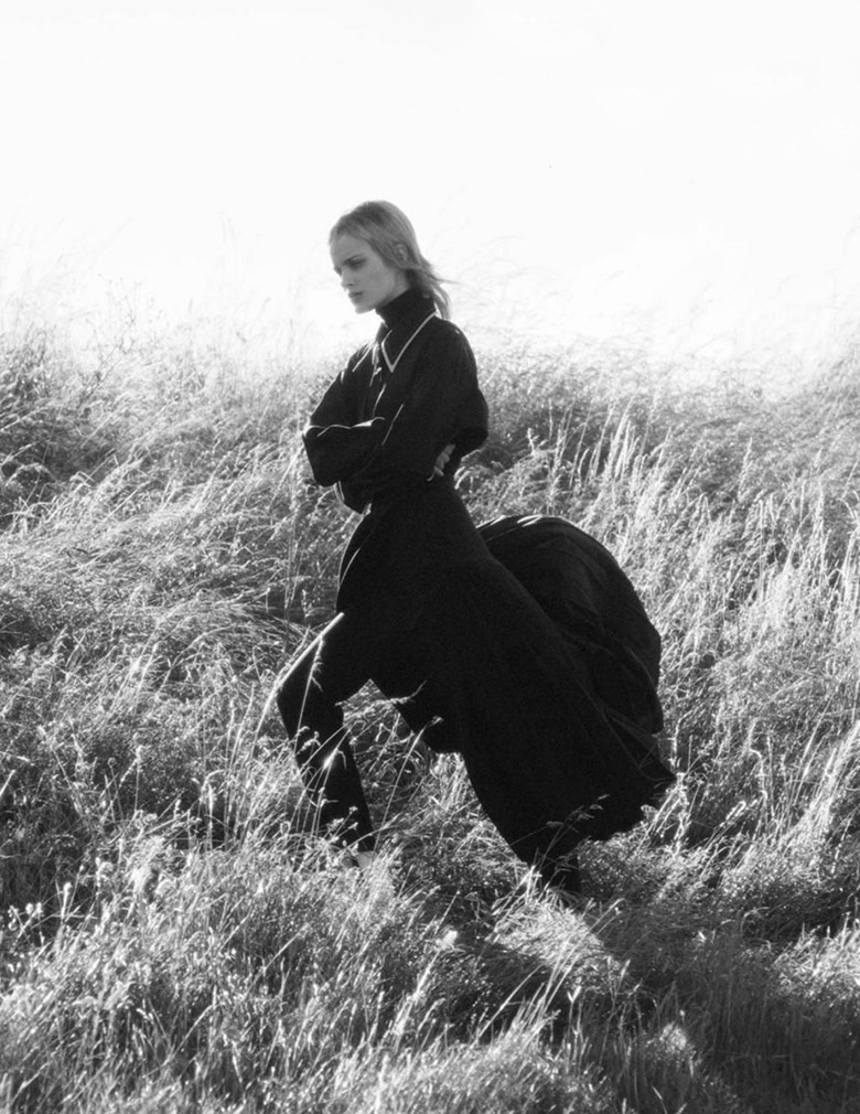 Photo Elise Agee by David Sims for Vogue Paris September 2016