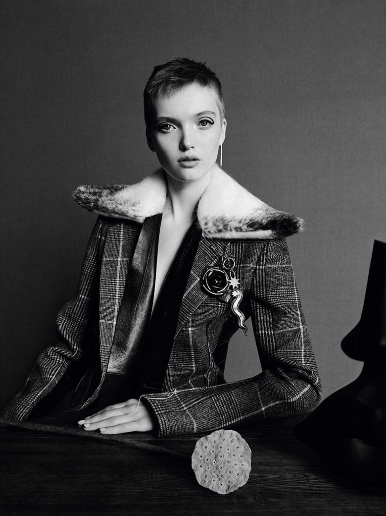 Photo Estella Boersma & Ruth Bell for Vogue China November 2016