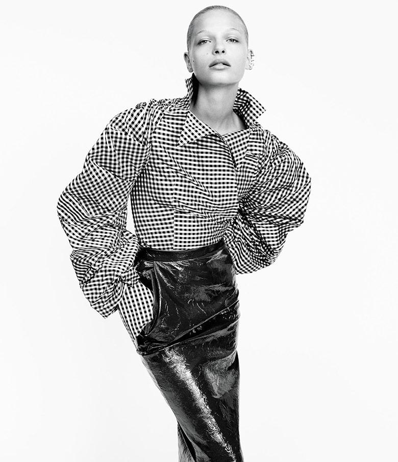 Photo Frederikke Sofie by Daniel Jackson for WSJ Magazine November 2016