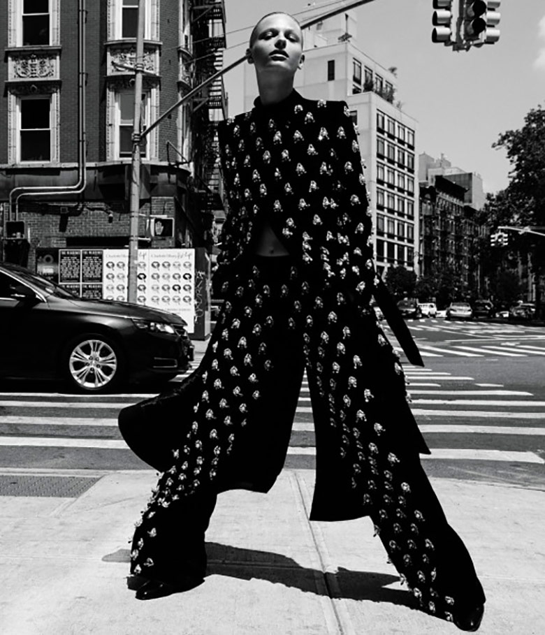 Photo Frederikke Sofie by Daniel Jackson for WSJ Magazine November 2016
