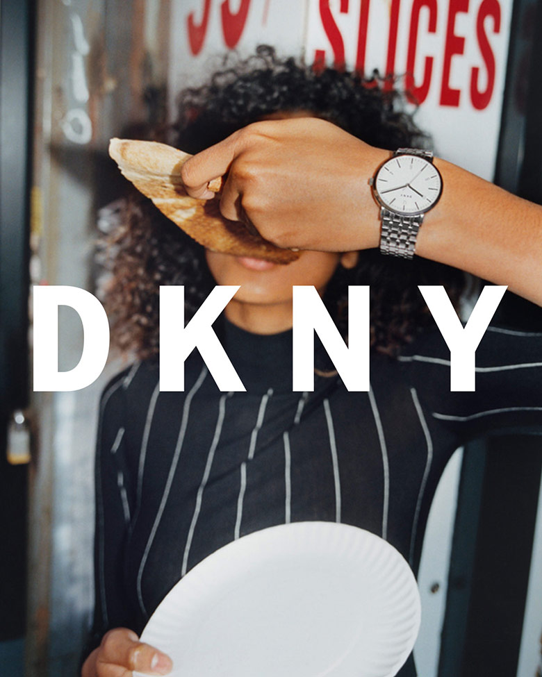 Photo Imaan Hammam by Tyrone Lebon for DKNY Pre Spring 2017
