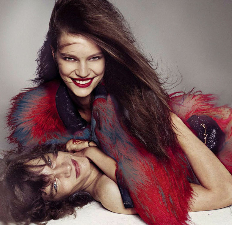 Photo Vogue Italia November 2016 by Steven Meisel