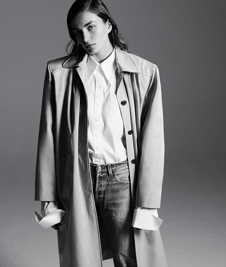 Photo Andreea Diaconu by Daniel Jackson for WSJ. Magazine March 2017