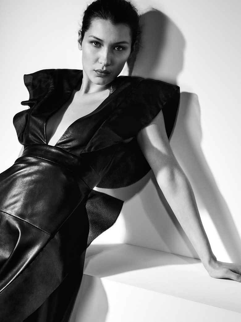 Photo Bella Hadid by Collier Schorr for Vogue China April 2017