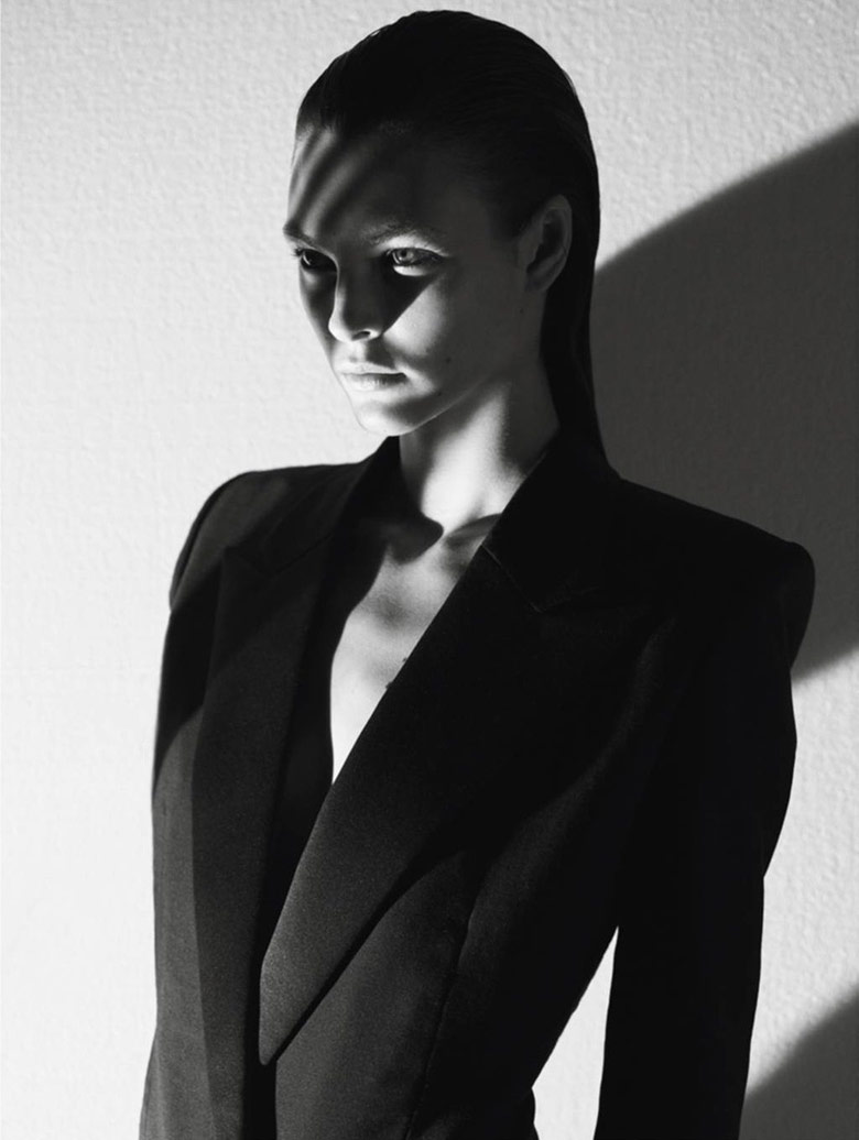 Photo Vittoria Ceretti by Mario Sorrenti for Vogue Paris