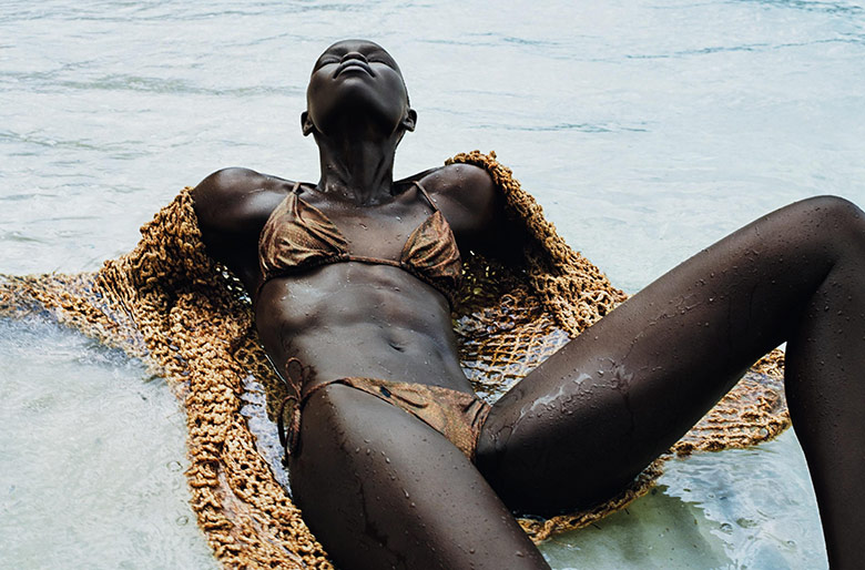 Photo Grace Bol by Txema Yeste for Numero May 2017