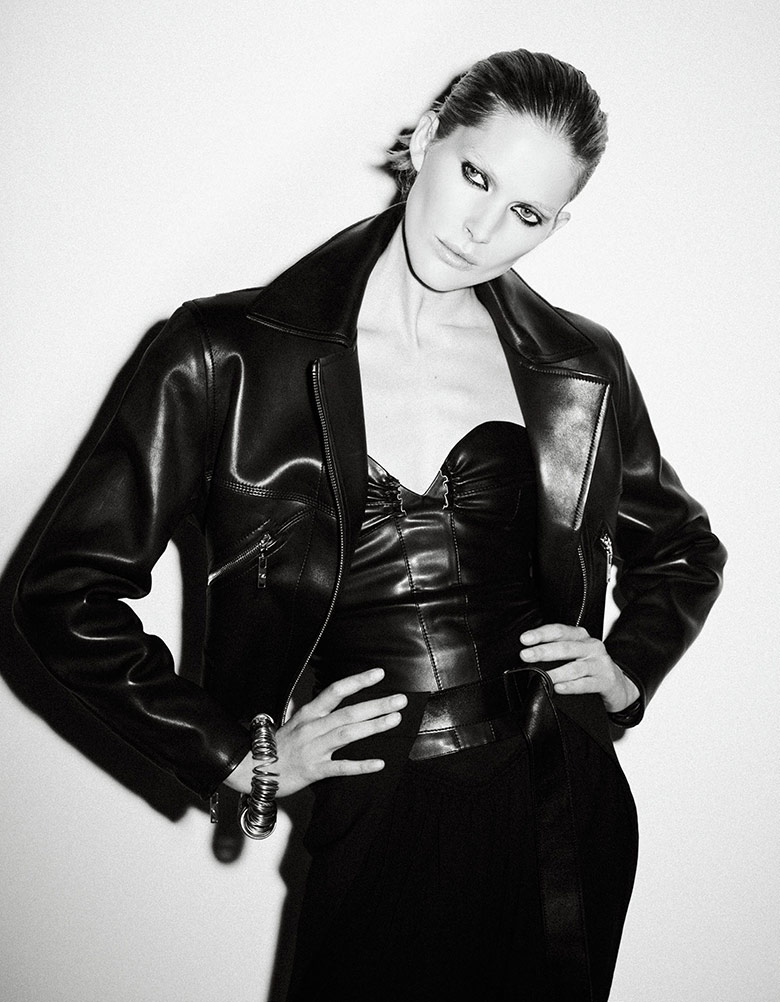 Photo Iselin Steiro by Ezra Petronio for Vogue Japan May 2017