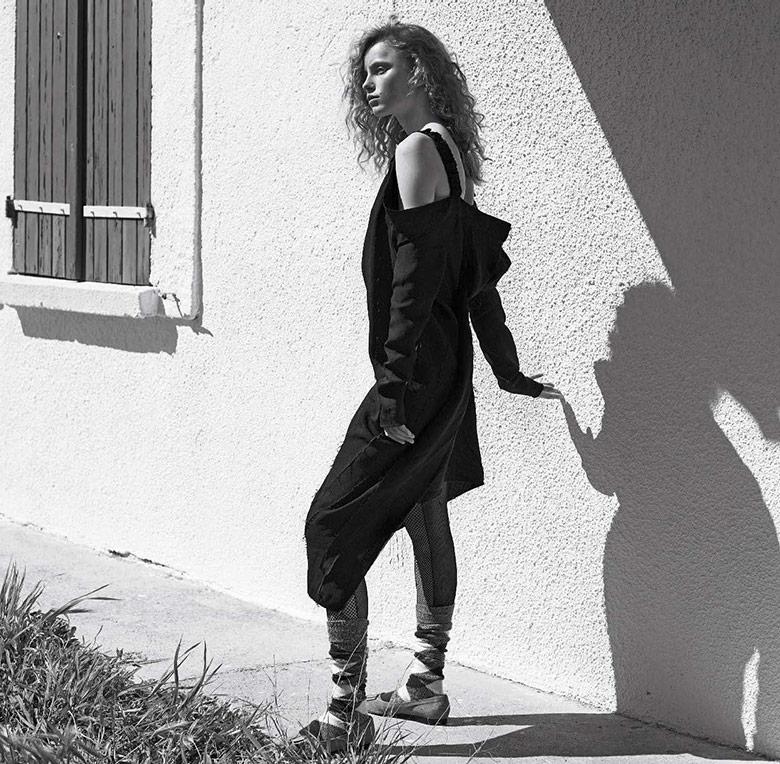 Photo Rianne van Rompaey by Karim Sadli for Vogue Italia May 2017