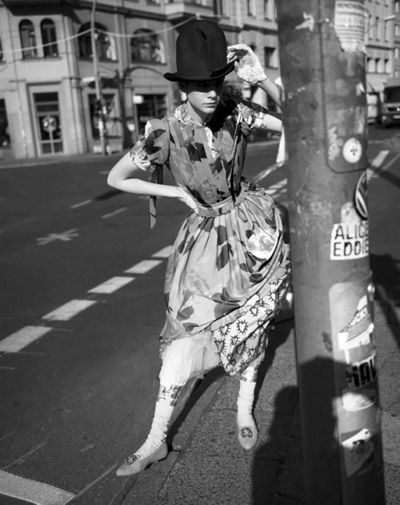 Photo Amandine Renard by Karim Sadli for Vogue Italia July 2017