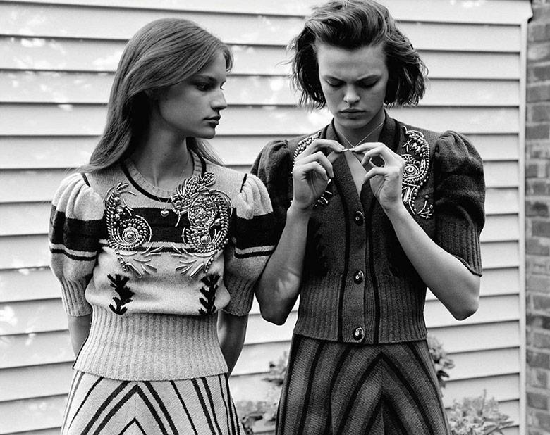 Photo Vogue UK September 2017 by Alasdair McLellan