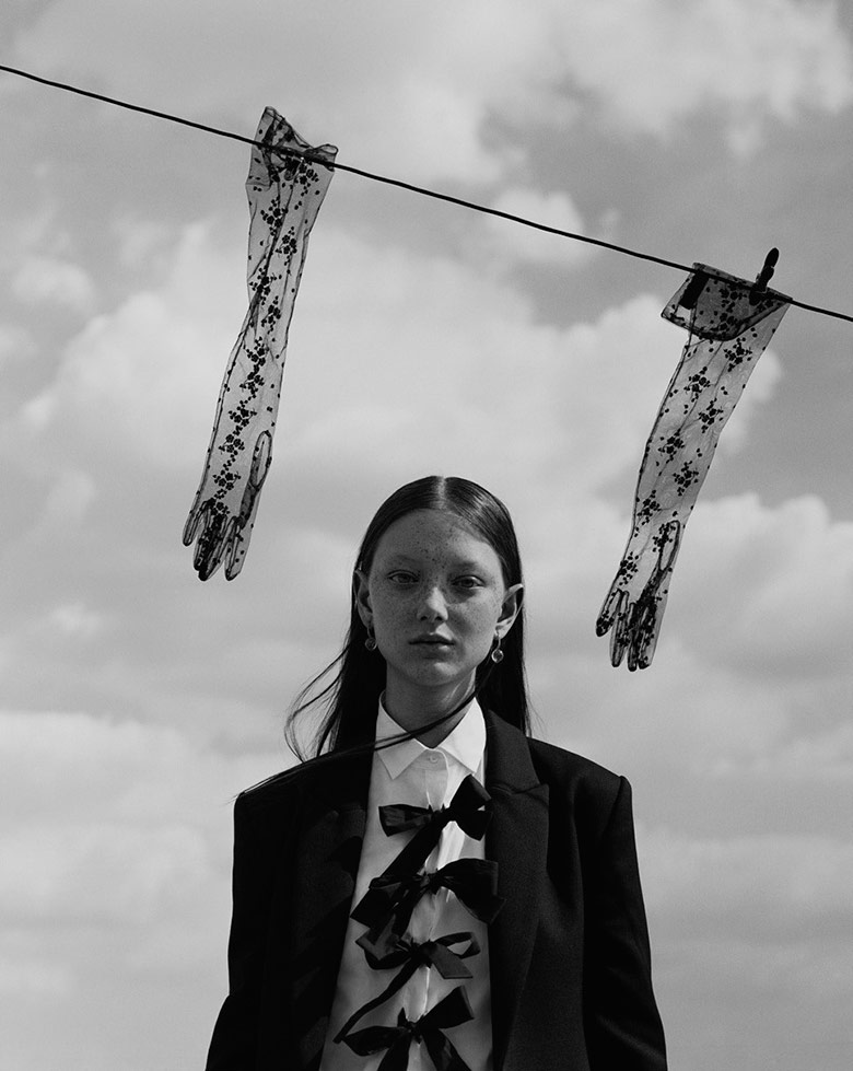 Photo Sara Grace by Jack Davison for Dazed Magazine Fall 2017