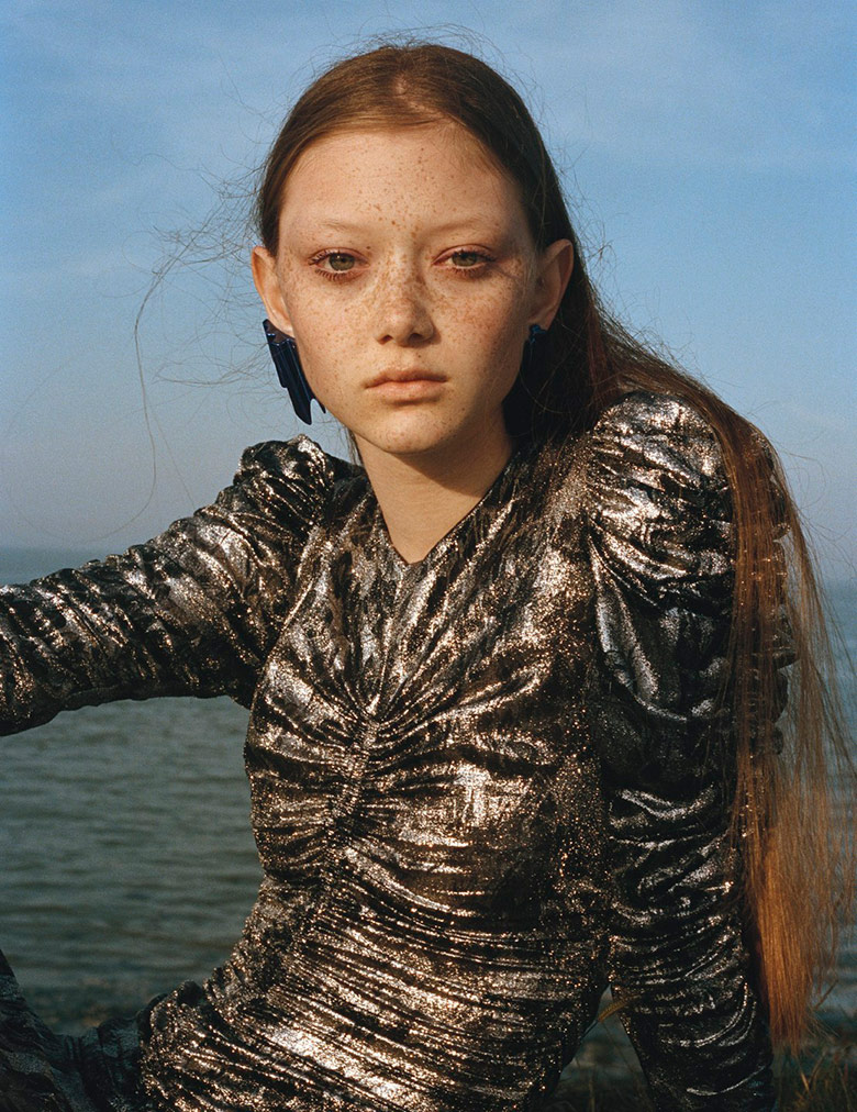 Photo Sara Grace by Letty Schmiterlow for i D Magazine Fall 2017