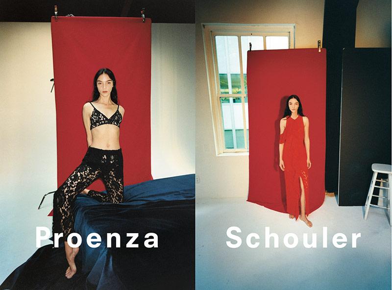Photo Proenza Schouler Spring 2018 Campaign