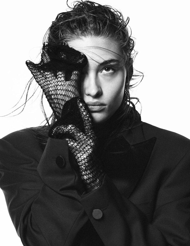 Photo Grace Elizabeth by David Sims for Vogue Paris March 2018