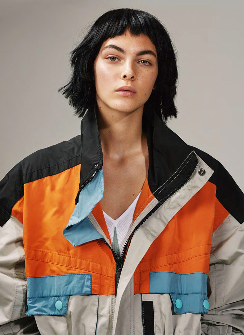 Photo Vittoria Ceretti by Collier Schorr for Vogue UK April 2018