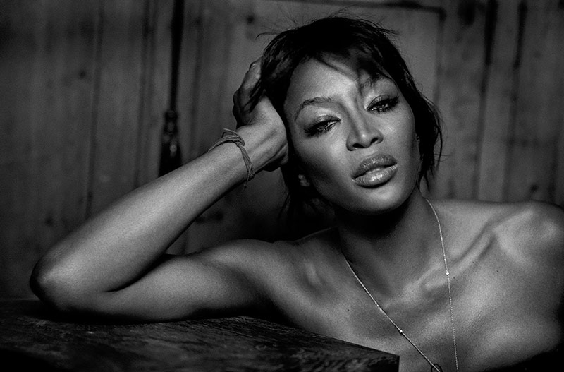 Photo Naomi Campbell by Peter Lindbergh for Numero April 2018