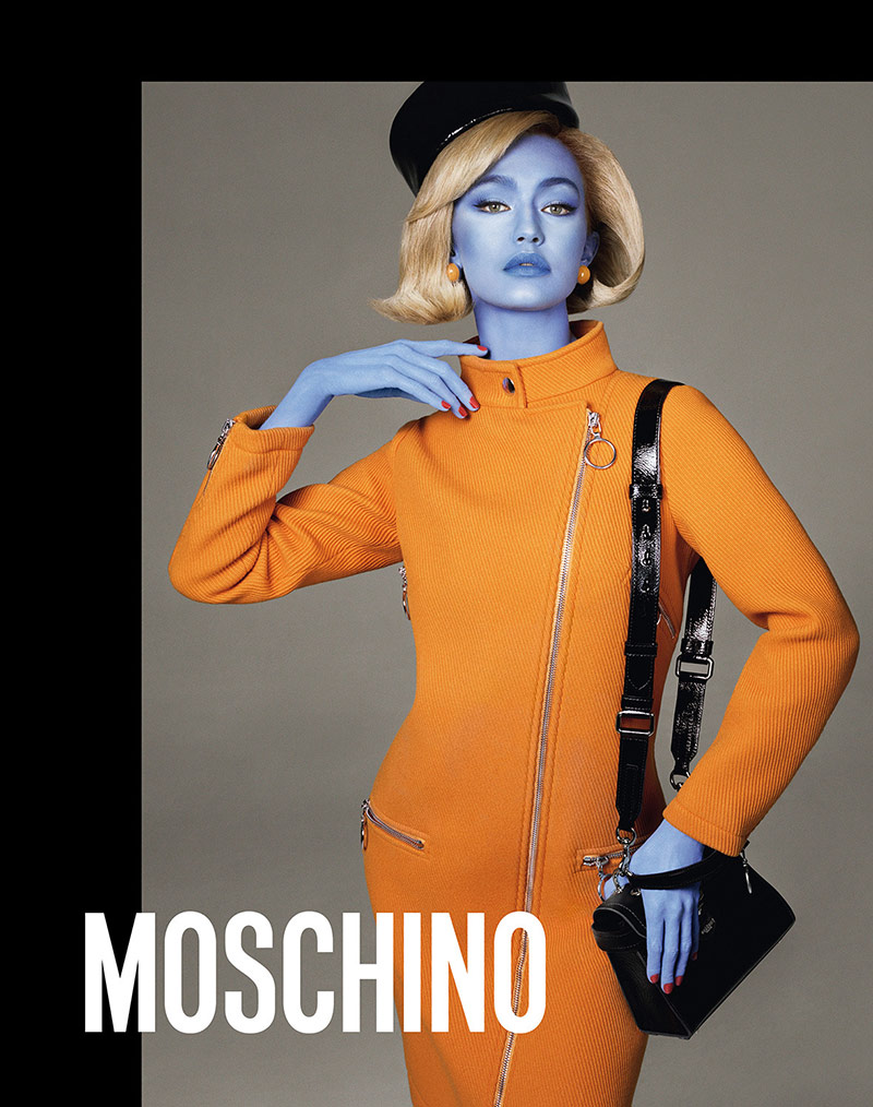 Photo Moschino Fall/Winter 18/19 by Steven Meisel