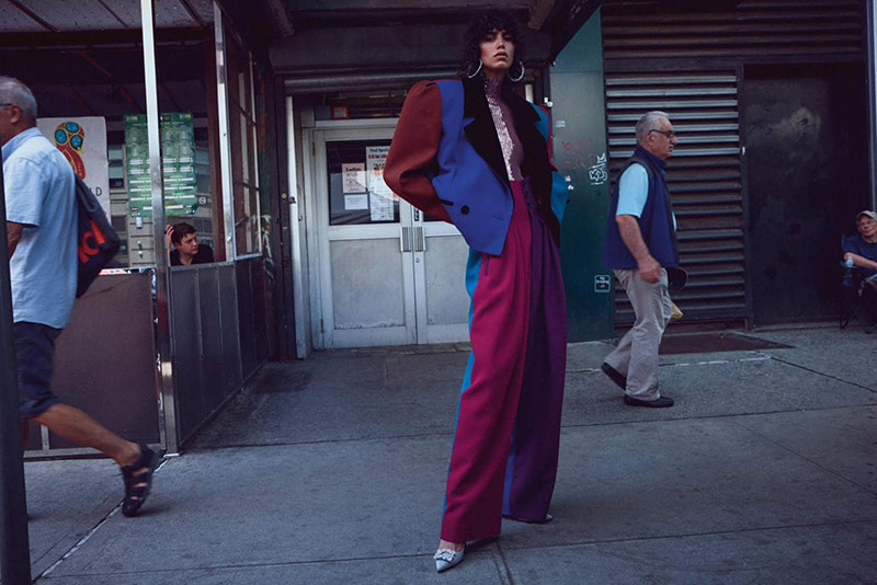 Photo Mica Arganaraz by Daniel Jackson for WSJ Magazine October 2018