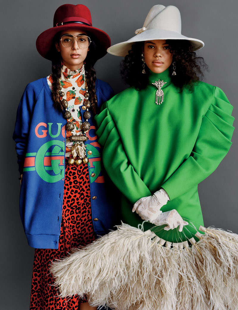 Photo British Vogue February 2019 by Alasdair McLellan