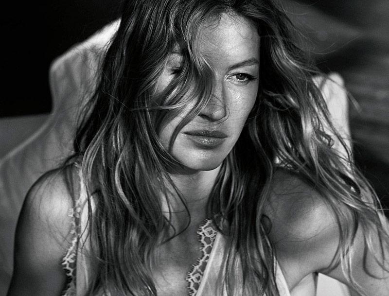 Photo Gisele Bundchen by Mario Sorrenti for Porter Magazine