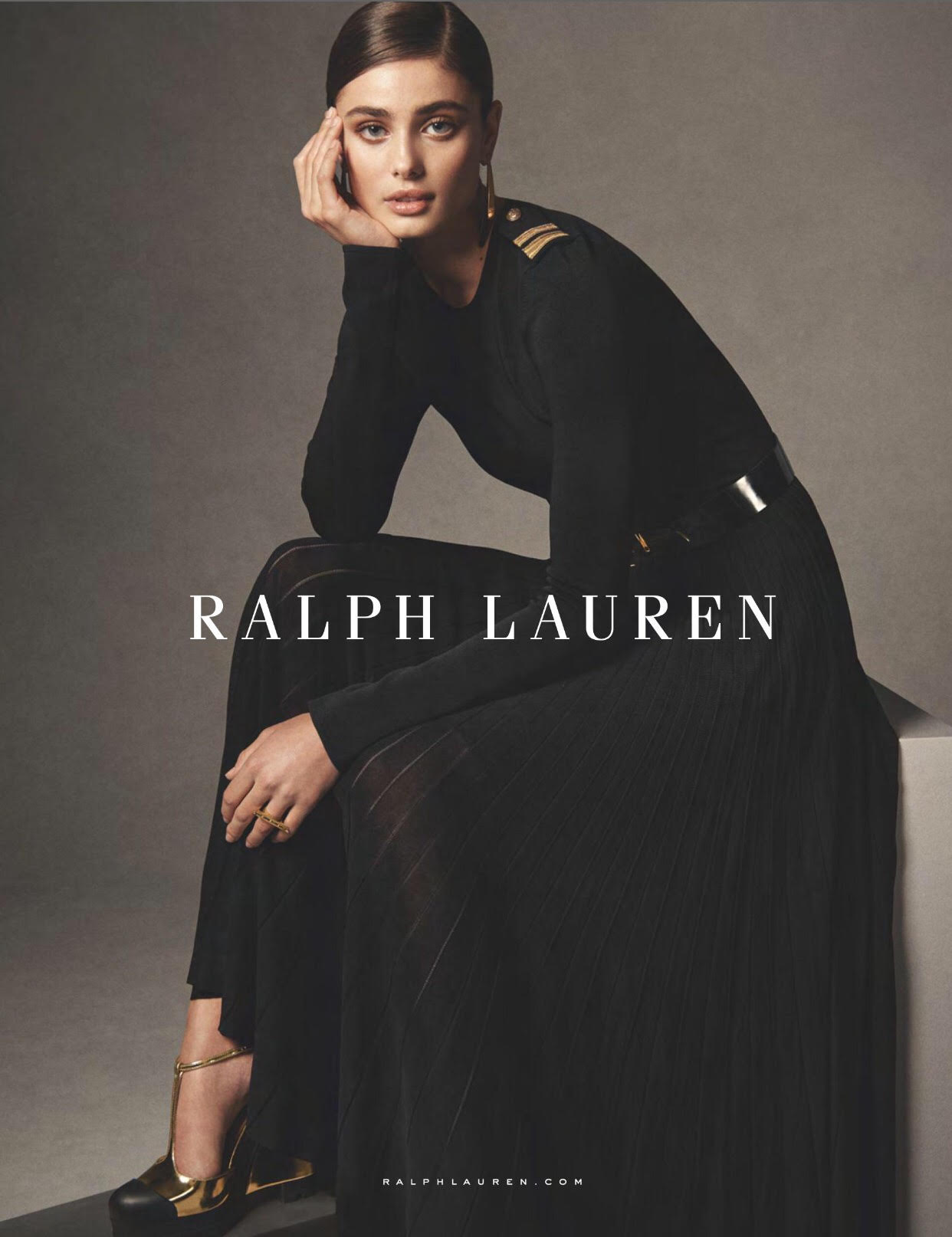 Photo Taylor Hill for Ralph Lauren S/S 2019