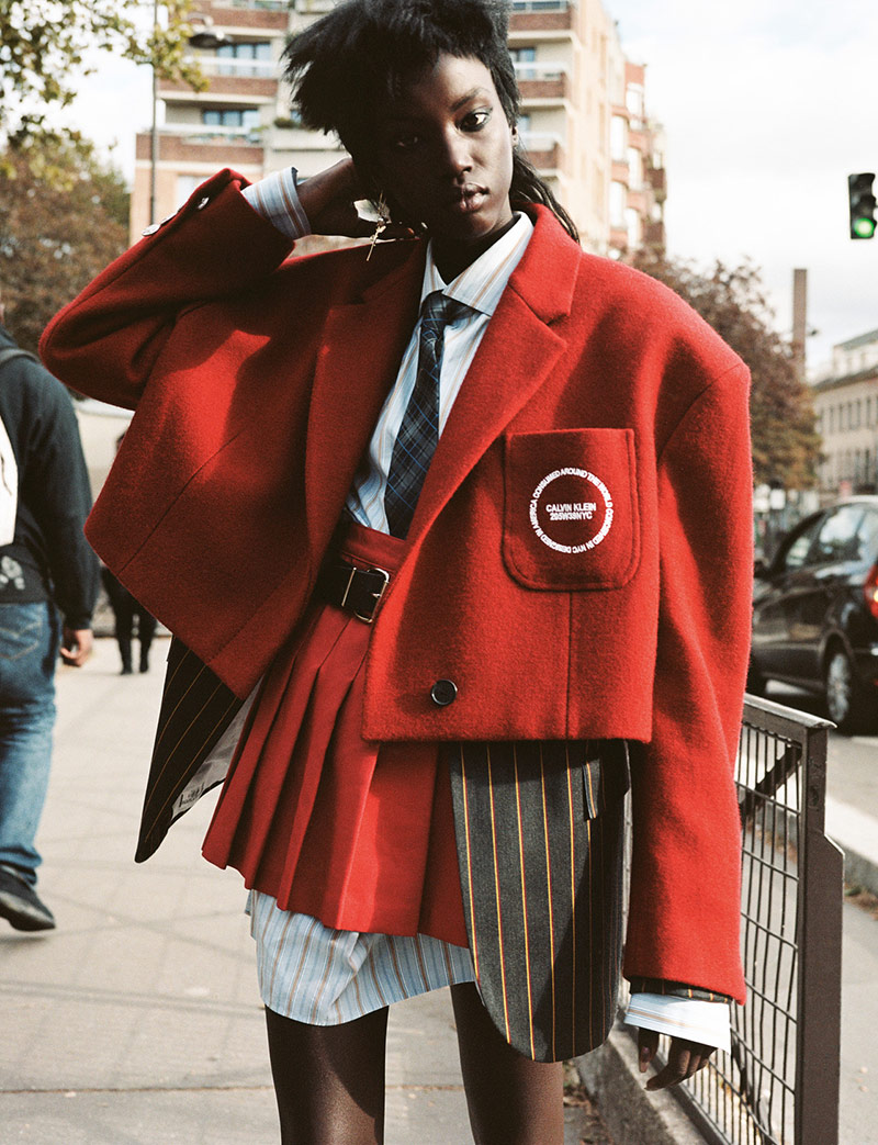 Photo Anok Yai by Angelo Pennetta for i D Winter 2018