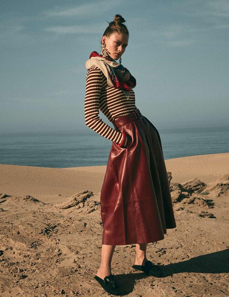 Photo Birgit Kos for Elle France February 2019