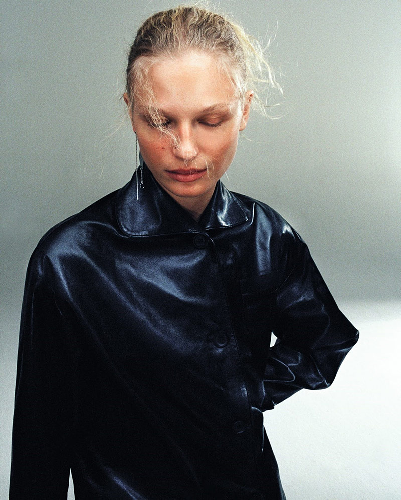 Photo Frederikke Sofie by Hugo Comte for Another Magazine
