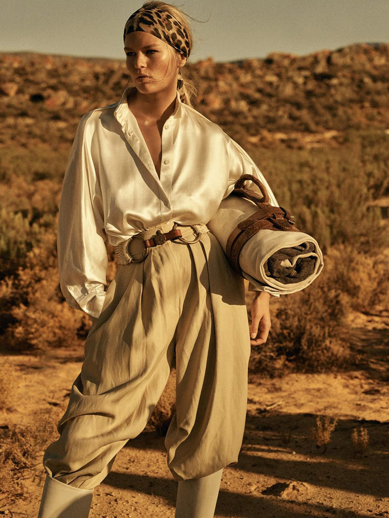 Photo Anna Ewers for Vogue Paris April 2019