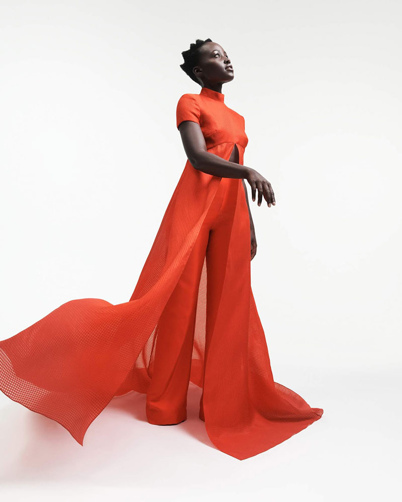 Photo Lupita Nyong'o for Porter Edit March 2019