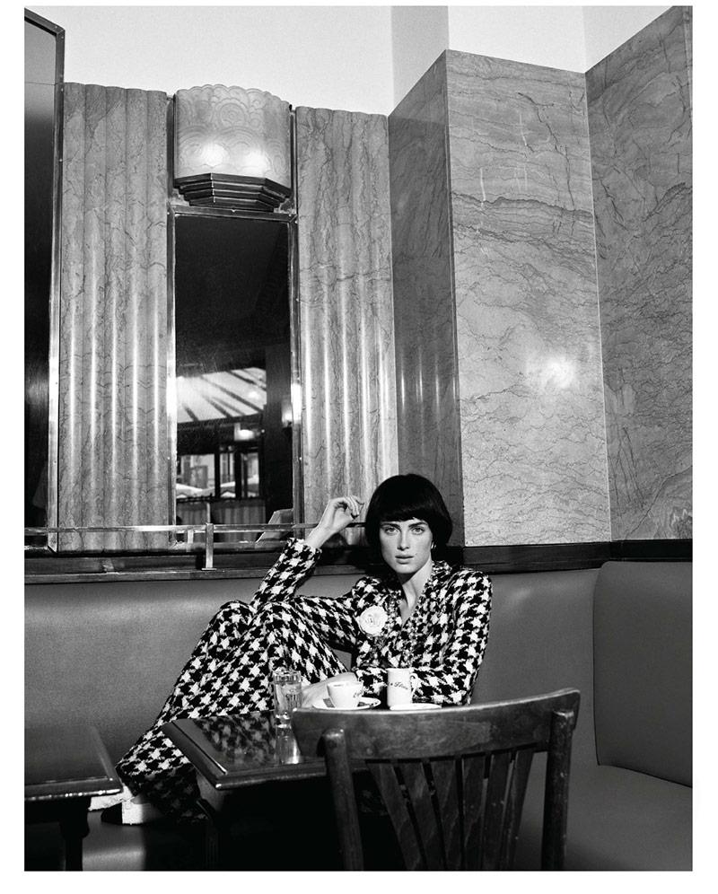 Photo Rianne van Rompaey by Alasdair McLellan for Vogue Paris September 2019