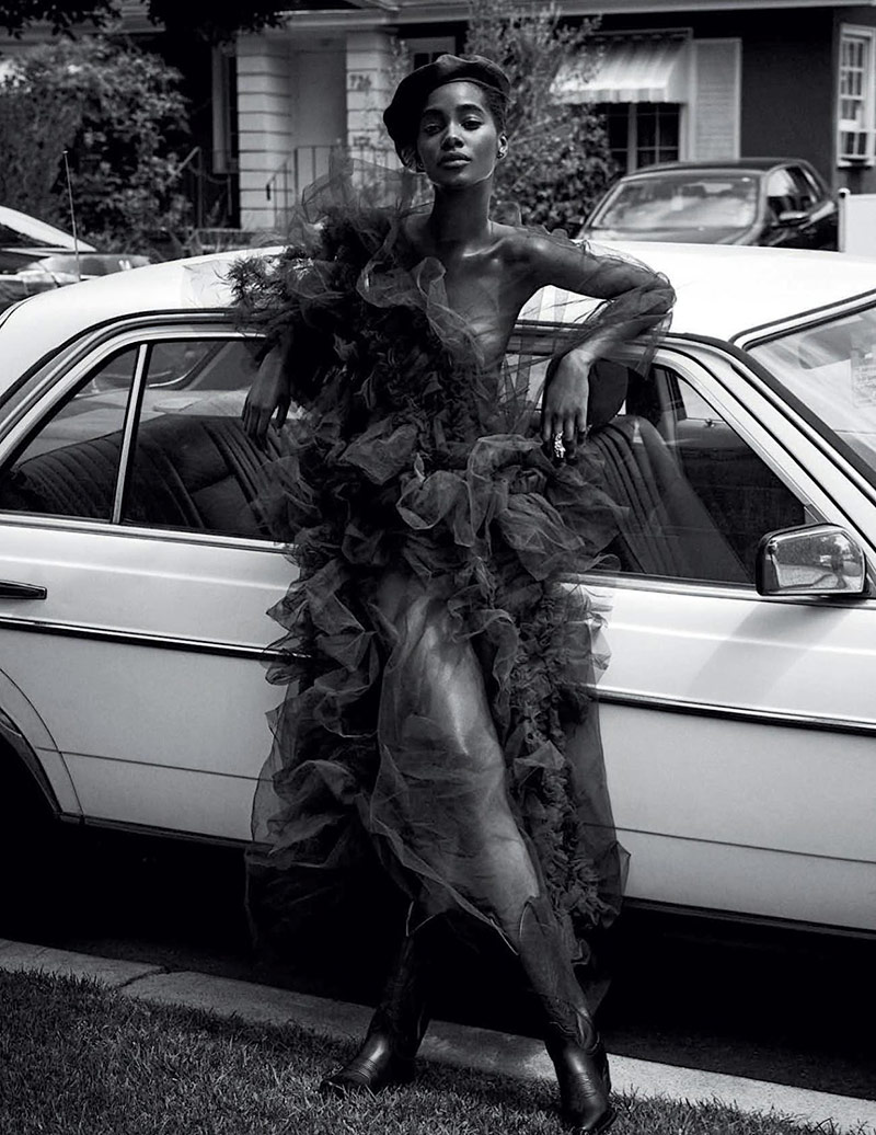 Photo Tami Williams by Alvaro Beamud Cortes for Vogue Spain