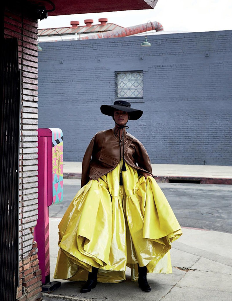 Photo Tami Williams by Alvaro Beamud Cortes for Vogue Spain