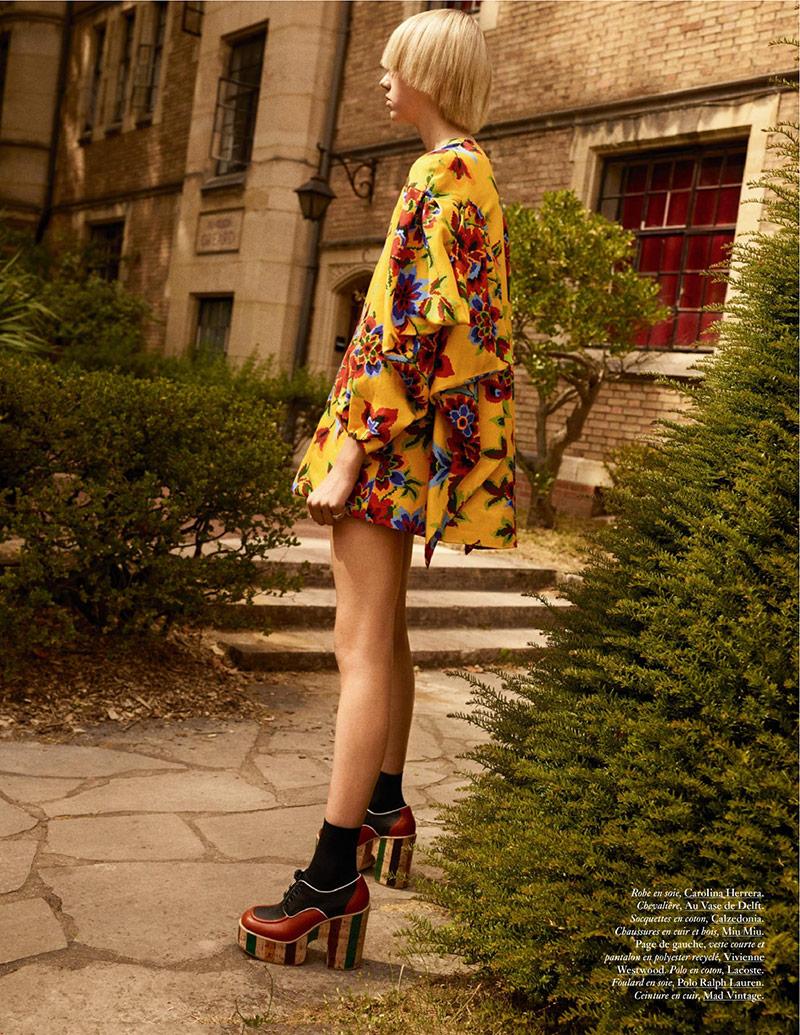 Photo Bente Oort for Vogue Paris October 2019