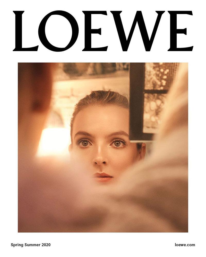 Photo Jodie Comer for Loewe S/S 2020