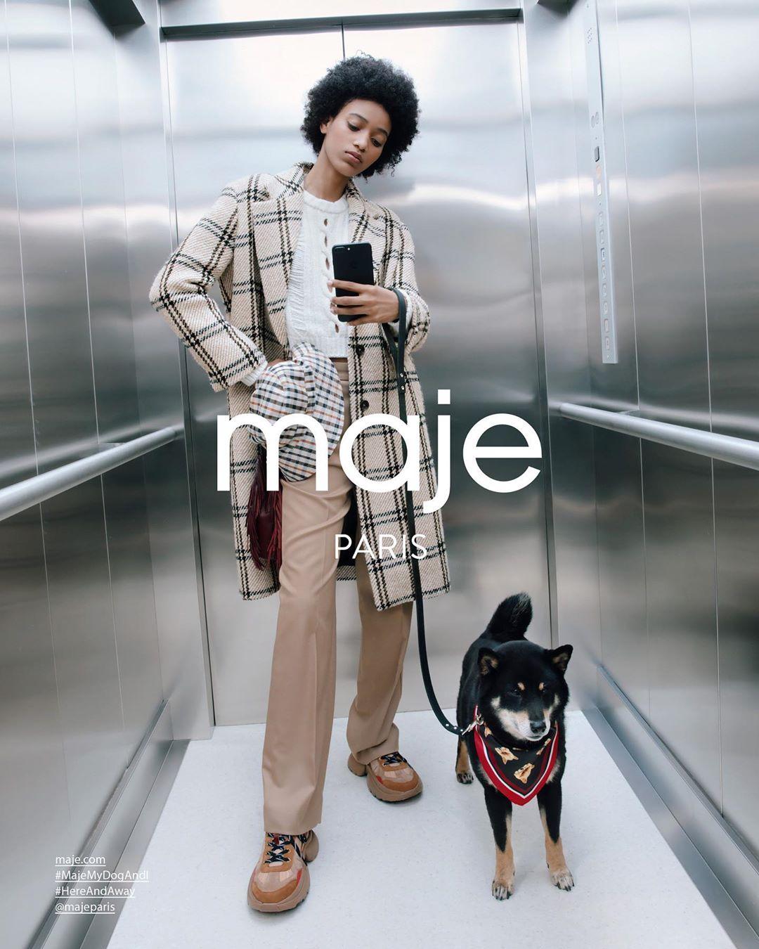 Photo Maje Paris Fall 2019 Campaign