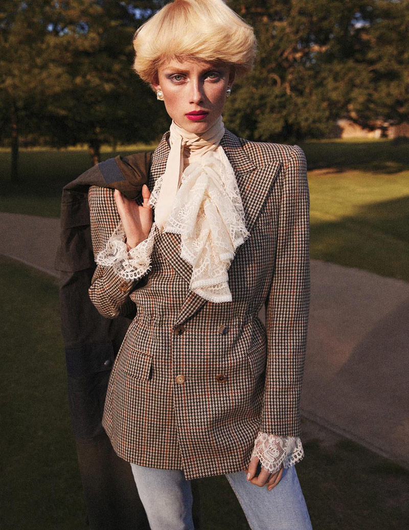 Photo Rianne van Rompaey for Vogue Paris September 2019