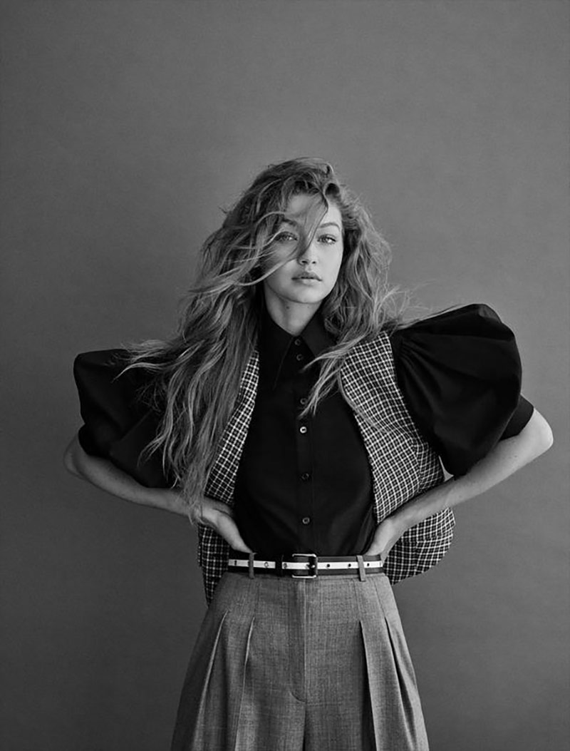Photo Gigi Hadid for Vogue Germany November 2019