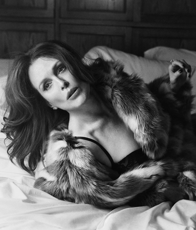 Photo Julianne Moore by Lachlan Bailey for WSJ Magazine November 2019
